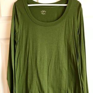 LOFT long-sleeve lightweight t-shirt - Size XL